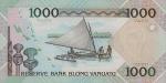 1000 Vanuatu vatu.