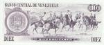 10 Venesuelos bolivarų.