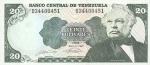 20 Venesuelos bolivarų.