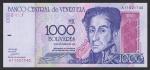 1000 Venesuelos bolivarų.
