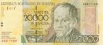 20000 Venesuelos bolivarų.