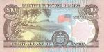 10 Vakarų Samoa talų.