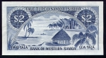 2 Vakarų Samoa talos.