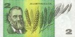 2 Australijos doleriai.