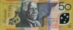50 Australijos dolerių.