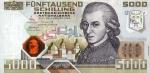 5000 Austrijos šilingų.