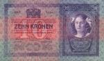 10 Austrijos kronų.