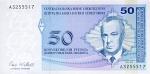 50 Bosnijos ir Hercegovinos pfeningų.