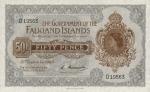 50 Falklando salų pensų.