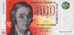 500 Suomijos markių.