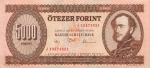 5000 Vengrijos forintų.
