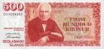 500 Islandijos kronų.