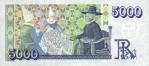5000 Islandijos kronų.