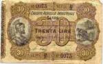 30 Italijos lirų.
