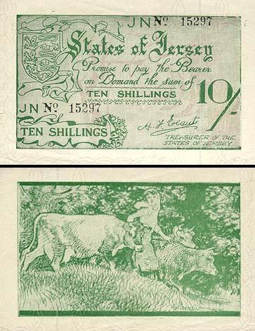 10 Džersio šilingų.