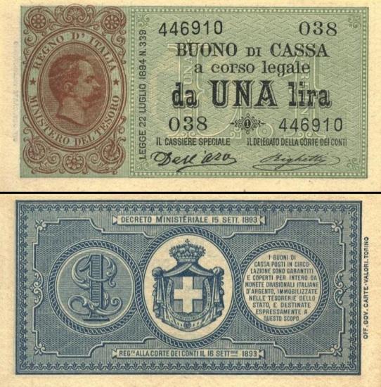 2 Italijos liros.