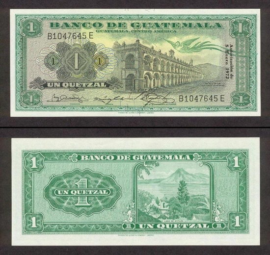 1 Gvatemalos kvedzalas.