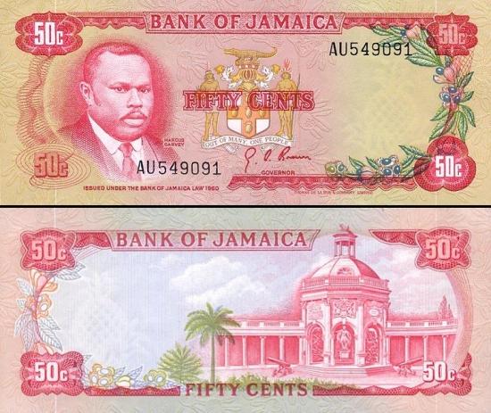 50 Jamaikos centų.