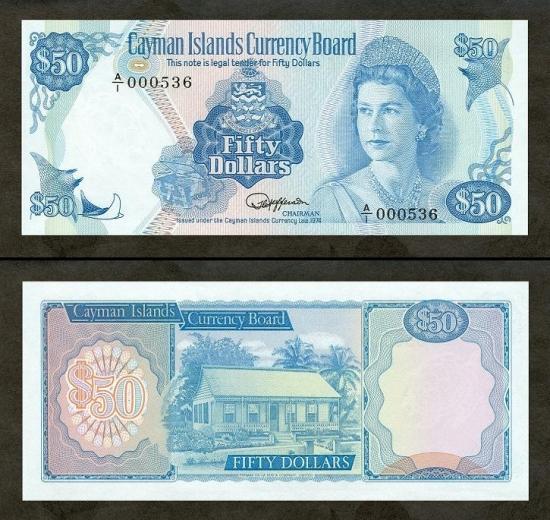 50 Kaimanų salų dolerių.