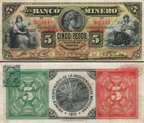 5 Meksikos pesai.