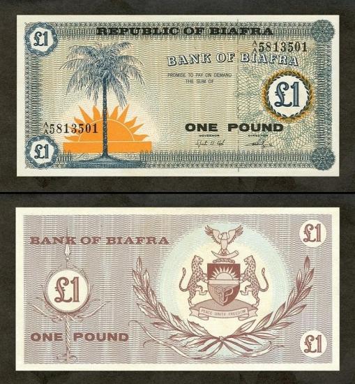 1 Biafros svaras.