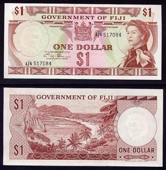 1 Fidžio doleris.