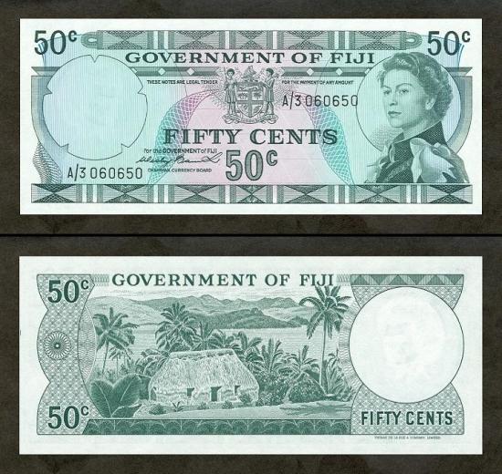 50 Fidžio centų.