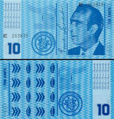 10 Hutriverio centų.