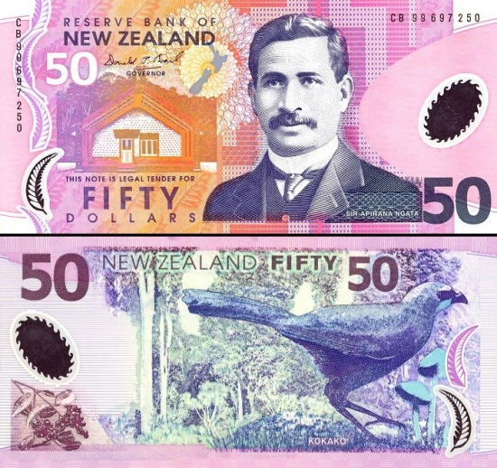 50 Naujosios Zelandijos dolerių.