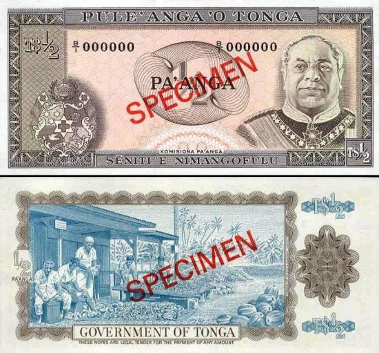 50 Tongos centų.