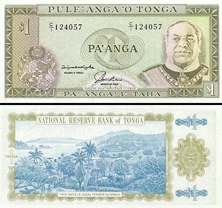 1 Tongos paanga.