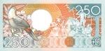 250 Surinamo guldenų.